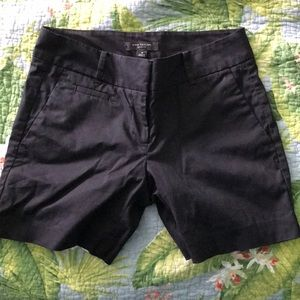 "Ann Taylor 5"" Inseam Black Short"